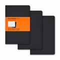 Moleskine Pocket Ruled Cahier Journal: Set of 3 Black
