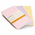Moleskine Pocket Ruled Cahier Set of 3 Pastels