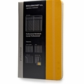 Moleskine Professional Notebook Orange Yellow
