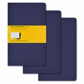 Moleskine Squared Cahier Journal - Navy Blue Large Set of 3