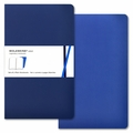 Moleskine Volant Plain Notebook Large Blue