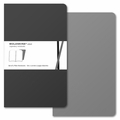 Moleskine Volant Plain Notebook Large Grey
