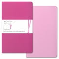 Moleskine Volant Plain Notebook Large Pink