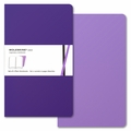 Moleskine Volant Plain Notebook Large Purple