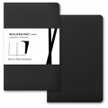 Moleskine Volant Plain Notebook Pocket Black