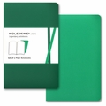 Moleskine Volant Plain Notebook Pocket Emerald Green