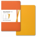 Moleskine Volant Plain Notebook Pocket Orange Yellow