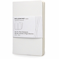 Moleskine Volant Plain Notebook Pocket White