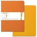 Moleskine Volant Plain Notebook X Large Orange Yellow