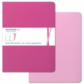 Moleskine Volant Plain Notebook X Large Pink