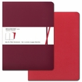 Moleskine Volant Plain Notebook X Large Red