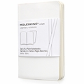 Moleskine Volant Plain Notebook X Small White