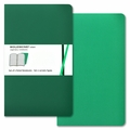 Moleskine Volant Ruled Notebook Large Emerald Green
