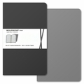 Moleskine Volant Ruled Notebook Large Grey
