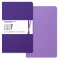 Moleskine Volant Ruled Notebook Large Purple