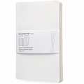 Moleskine Volant Ruled Notebook Large White