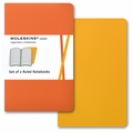 Moleskine Volant Ruled Notebook Pocket Orange Yellow