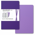 Moleskine Volant Ruled Notebook Pocket Purple