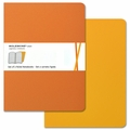 Moleskine Volant Ruled Notebook X Large Orange Yellow