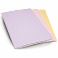 Moleskine X Large Plain Cahier Set of 3 Pastels