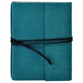 Narayani Handmade Paper Wrap Journal Aqua