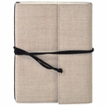 Narayani Handmade Paper Wrap Journal Natural