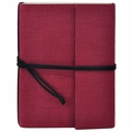 Narayani Handmade Paper Wrap Journal Brick Red