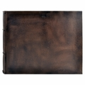 Nobile 18 x 14 Handmade Italian Distressed Leather Photo Album