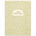Oblation Letterpress Filigree Diary For My Child
