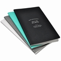 Ogami Stone Notebook Professional Jotter - Set of 2 Medium Blue