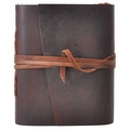 One of a Kind Cinnamon Leather Journal