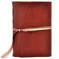 One of a Kind Heirloom Rose Leather Journal