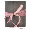 One of a Kind Wildflowers Leather Journal