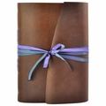 One of a Kind Wisteria Handmade Leather Journal
