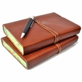 Personalized Roma Lussa Leather Journal