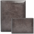 Pinetti Vintage Leather Photo Album Charcoal