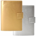 Prada Metallic Leather Refillable Journal