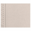Rag & Bone 12 X 12 Paper Page Album - Natural Linen