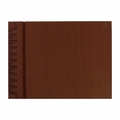 Rag & Bone Small Paper Page Album - Chocolate