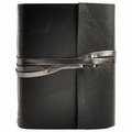 Tuxedo Leather Journal with Artist Papers