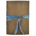Waterfall Leather Journal with Artist Papers