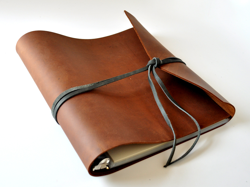 Leather Ring Binder Journal