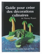 GARNISHING FRENCH BOOK W/TOOLS