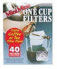 Mini Minute Filter 1 Cup size, 40 Count