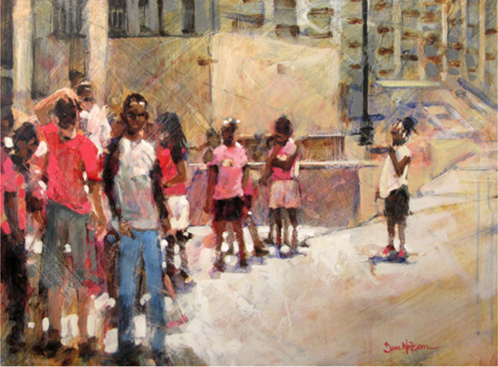 Aug 3 - Intro to Painting: Faces and Figures with Dan Nelson