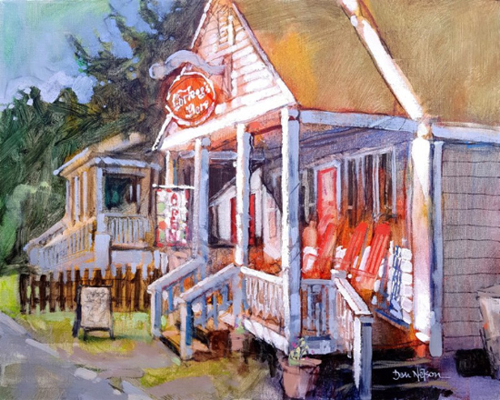 Feb 2 - Intro to Painting - Getting Off on the Right Foot with Dan Nelson