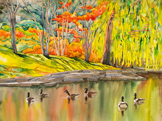 Jan 26 - Wet and Wild Watercolor with Suzanne Hetzel