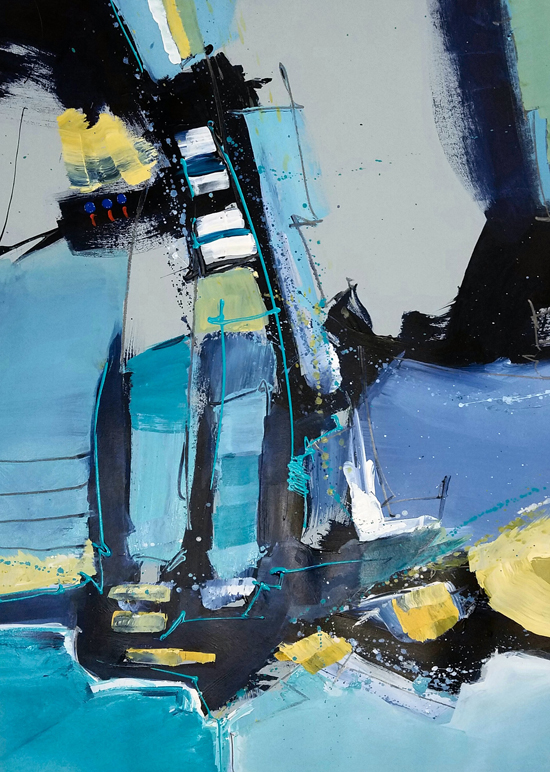 May 27 and 28 - Large Abstracts on Paper with Joe DiGiulio