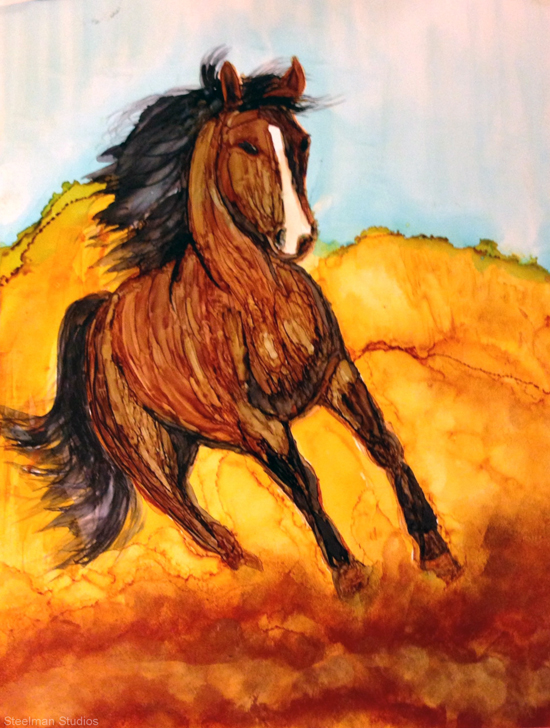 Sept 9 - Alcohol Inks: Extended Version! with Jane Steelman