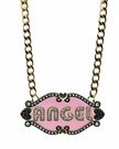 BETSEY JOHNSON Angel&Devil Necklace